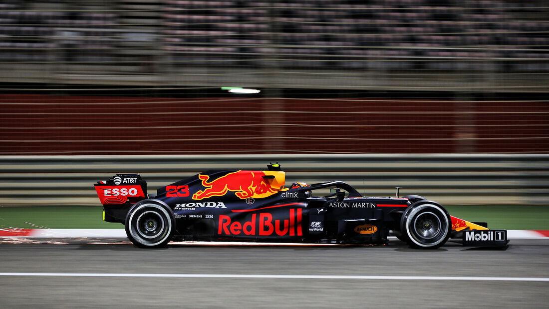 Alexander Albon - Red Bull - Formel 1 - GP Sakhir - Bahrain - Samstag - 5.12.2020