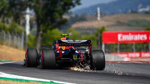 Alexander Albon - Red Bull - Formel 1 - GP Spanien - Barcelona - 14. August 2020