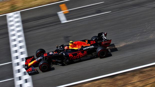 Alexander Albon - Red Bull - Formel 1 - GP Spanien - Barcelona - Qualifying - Samstag - 15. August 2020