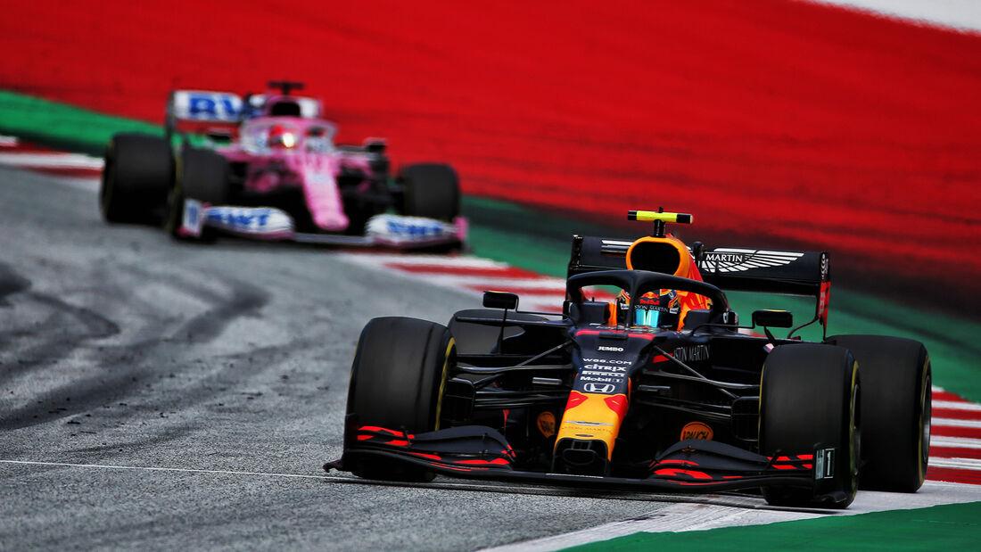 Alexander Albon - Red Bull - Formel 1 - GP Steiermark 2020 - Spielberg - Rennen