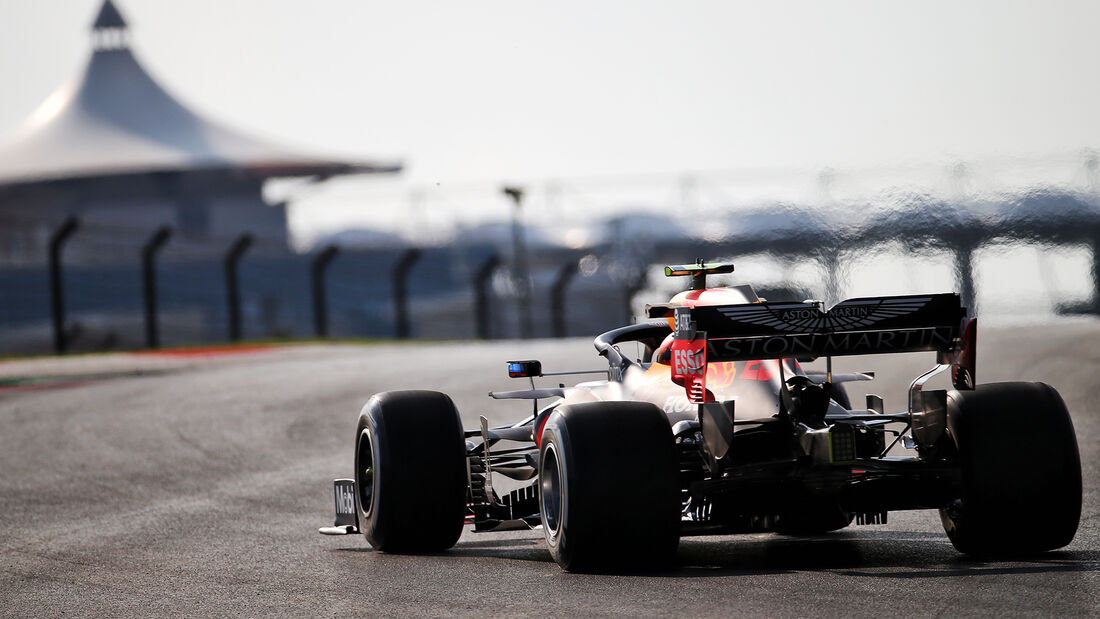 Alexander Albon - Red Bull - Formel 1 - GP Türkei - Istanbul - Freitag - 13.11.2020