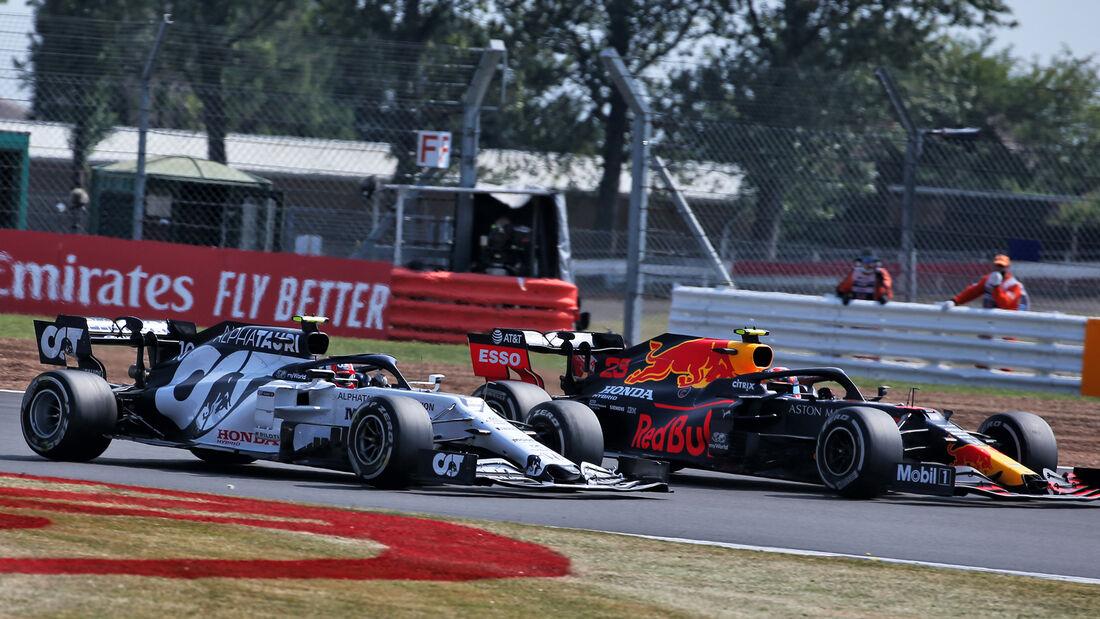 Alexander Albon - Red Bull - GP 70 Jahre F1 - Silverstone