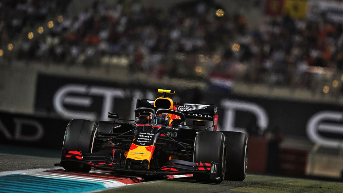 Alexander Albon - Red Bull - GP Abu Dhabi 2019 - Rennen
