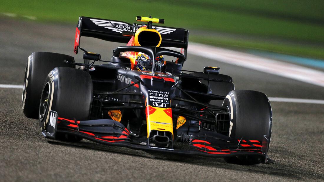 Alexander Albon - Red Bull - GP Abu Dhabi 2020