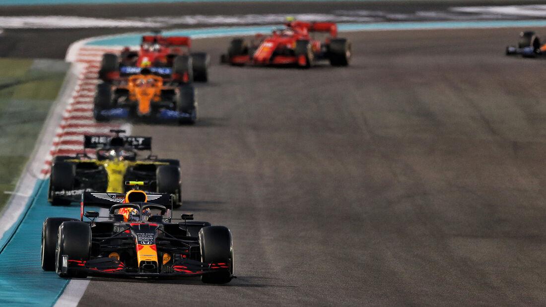Alexander Albon - Red Bull - GP Abu Dhabi 2020 - Rennen