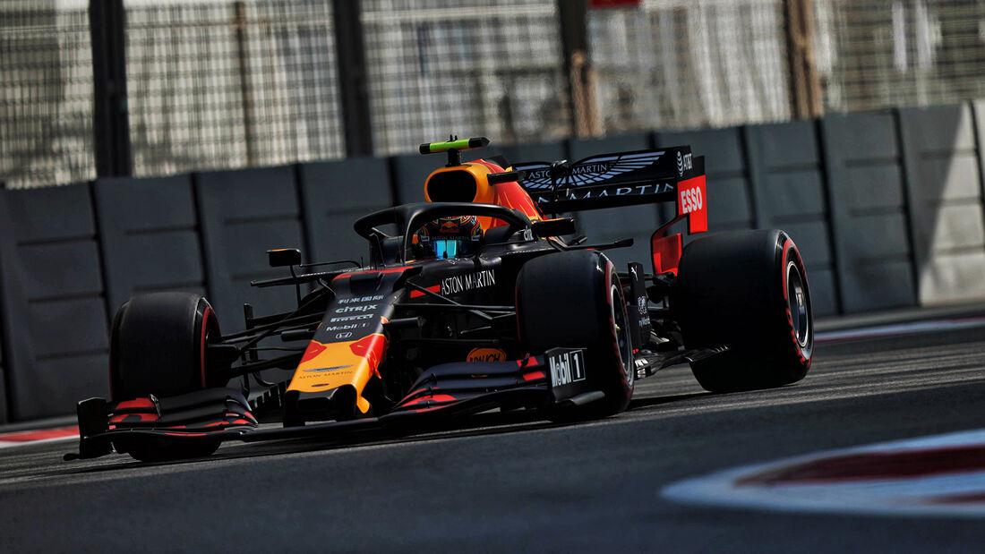 Alexander Albon - Red Bull - GP Abu Dhabi - Formel 1 - Freitag - 29.11.2019