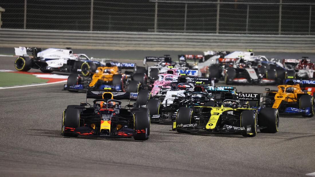Alexander Albon - Red Bull - GP Bahrain 2020 - Sakhir - Rennen
