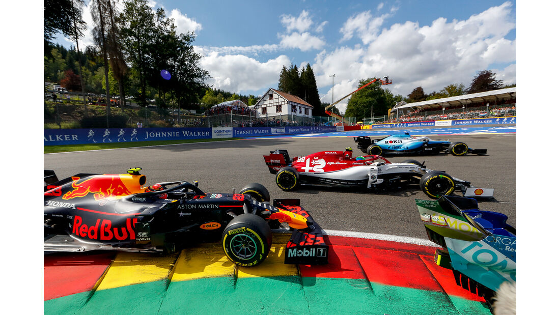 Alexander Albon - Red Bull - GP Belgien 2019 - Spa-Francorchamps