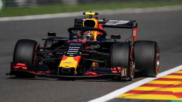 Alexander Albon - Red Bull - GP Belgien 2019 - Spa-Francorchamps - Qualifying