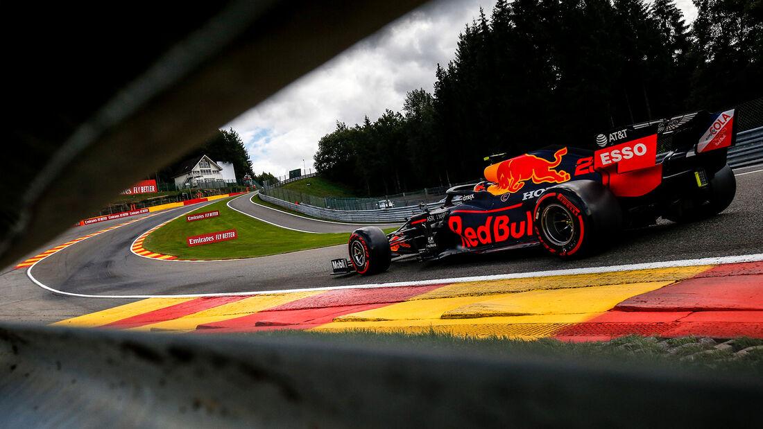 Alexander Albon - Red Bull - GP Belgien - Spa-Francorchamps - 29. August 2020