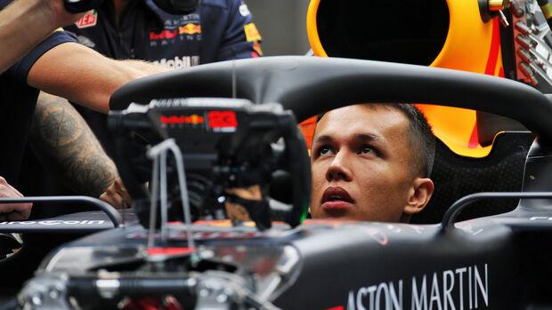 Alexander Albon - Red Bull - GP Belgien - Spa-Francorchamps - Formel 1 - Donnerstag - 29.8.2019