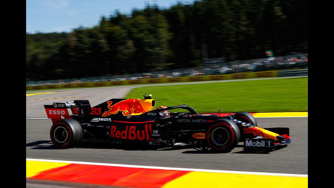 Alexander Albon - Red Bull - GP Belgien - Spa-Francorchamps - Formel 1 - Freitag - 30.08.2019