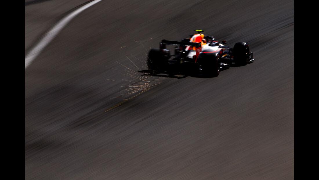 Alexander Albon - Red Bull - GP Belgien - Spa-Francorchamps - Formel 1 - Freitag - 30.8.2019