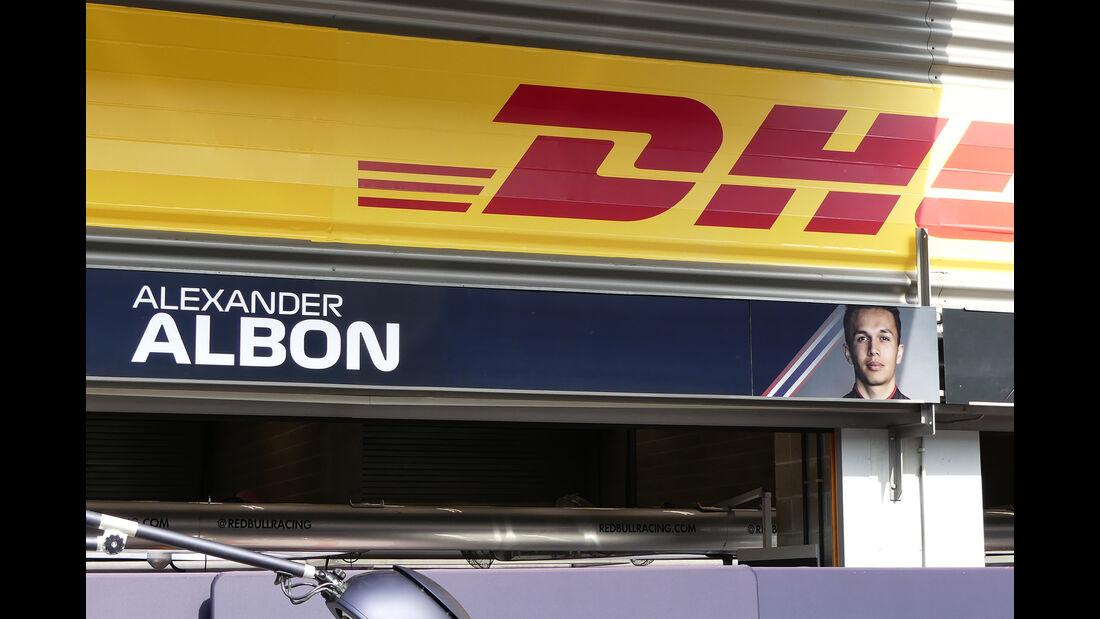 Alexander Albon - Red Bull - GP Belgien - Spa-Francorchamps - Formel 1 - Mittwoch - 28.8.2019