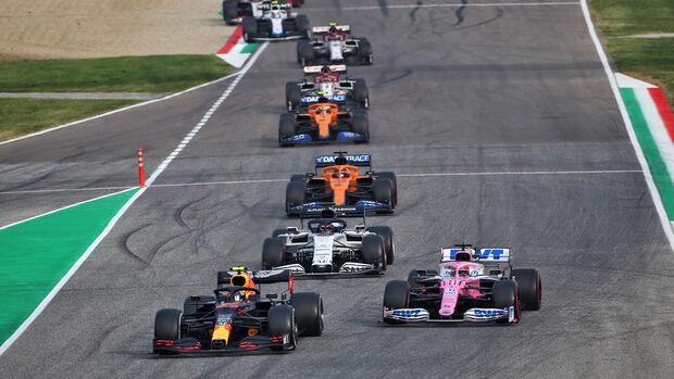 Alexander Albon - Red Bull - GP Emilia-Romagna 2020 - Imola - Rennen