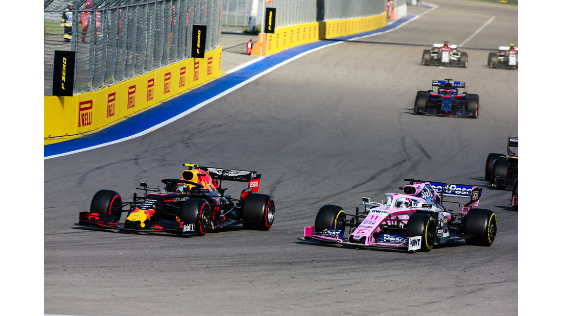 Alexander Albon - Red Bull - GP Russland 2019 - Sochi Autodrom - Rennen