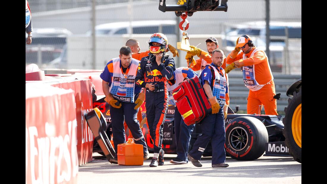 Alexander Albon - Red Bull - GP Russland 2019 - Sotschi - Qualifying