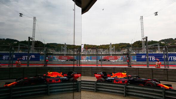 Alexander Albon -  Red Bull - GP Russland 2019 - Sotschi