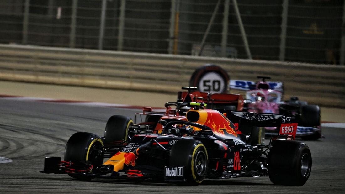 Alexander Albon - Red Bull - GP Sakhir 2020 - Bahrain - Rennen