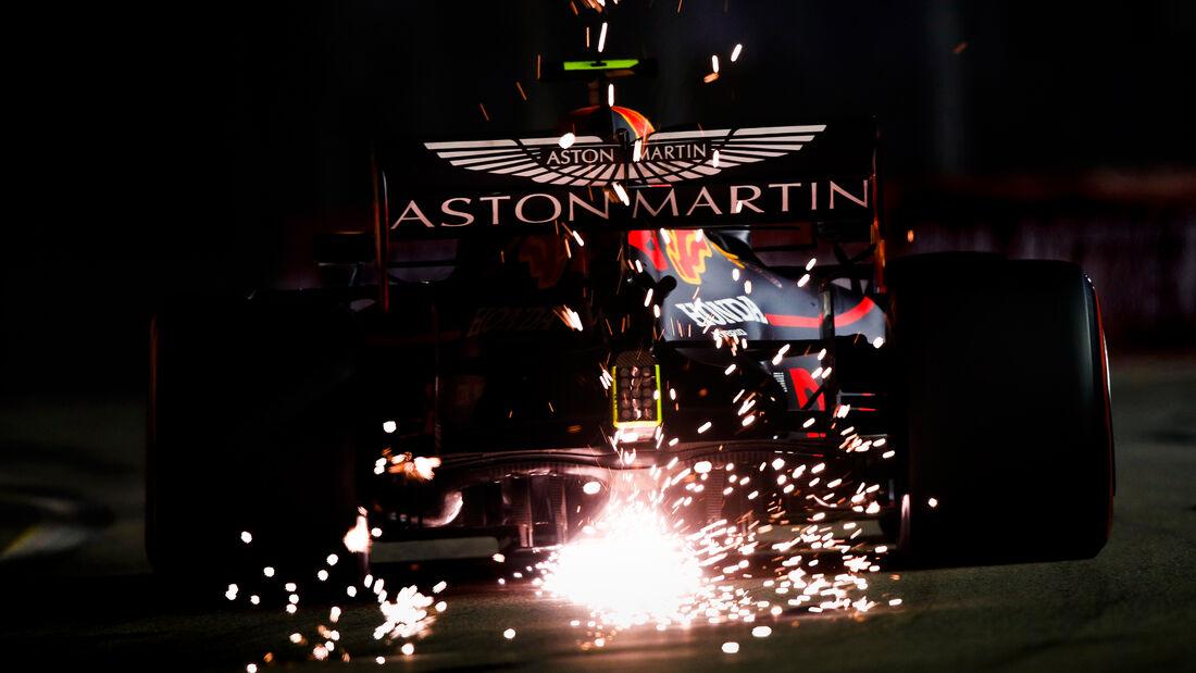 Alexander Albon - Red Bull - GP Singapur 2019