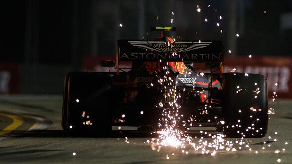 Alexander Albon - Red Bull - GP Singapur 2019 - Qualifying