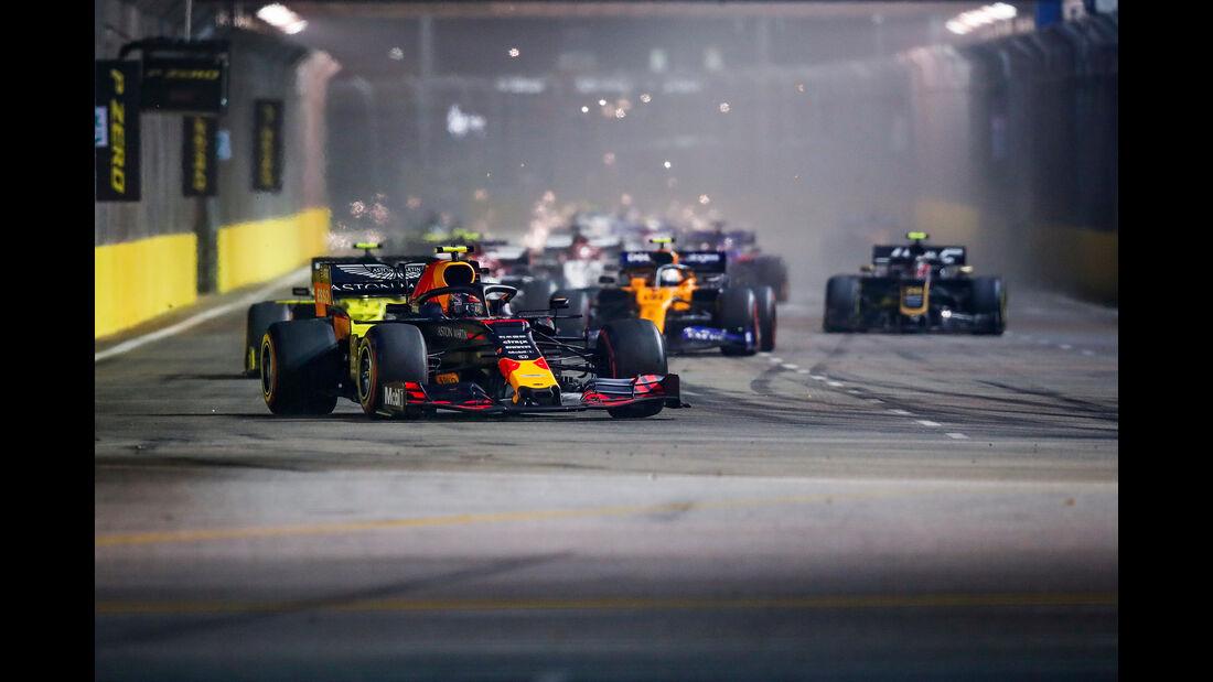 Alexander Albon - Red Bull - GP Singapur 2019 - Rennen