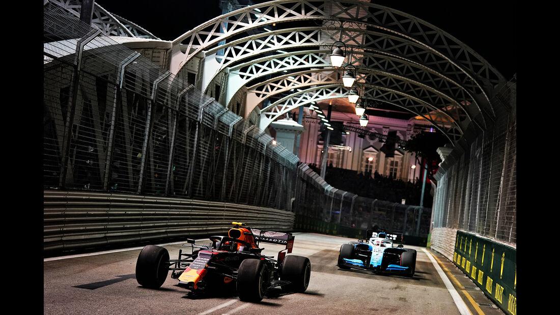 Alexander Albon - Red Bull - GP Singapur - Formel 1 - Freitag - 20.9.2019