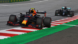 Alexander Albon - Red Bull - Lewis Hamilton - Mercedes - GP Österreich 2020 - Spielberg