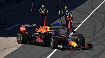 Alexander Albon - Red Bull RB16 - Silverstone - Filmtag - Donnerstag - 25. Juni 2020