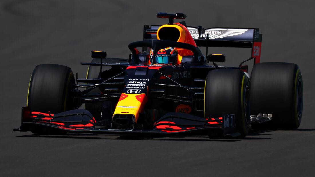 Alexander Albon - Red Bull - Silverstone - Donnerstag - 25.6.2020