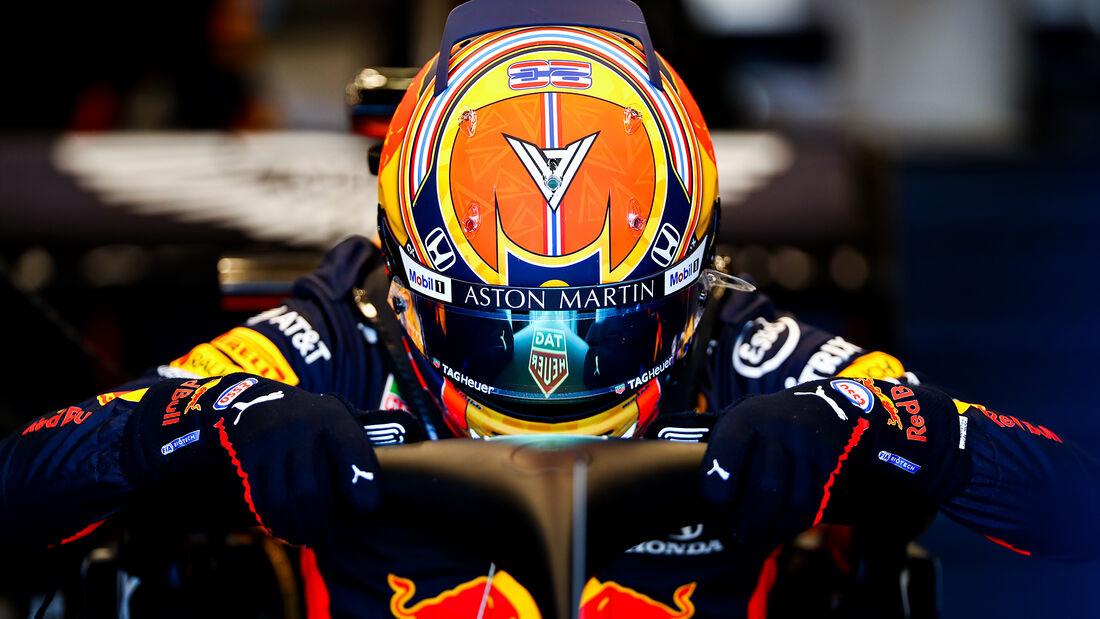 Alexander Albon - Red Bull - Silverstone - Filmtag - Donnerstag - 25. Juni 2020
