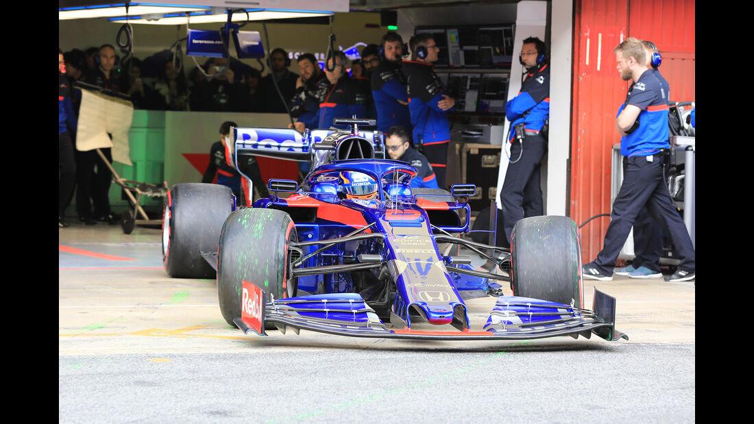 Alexander Albon - Toro Rosso - Barcelona - F1-Test - 19. Februar 2019
