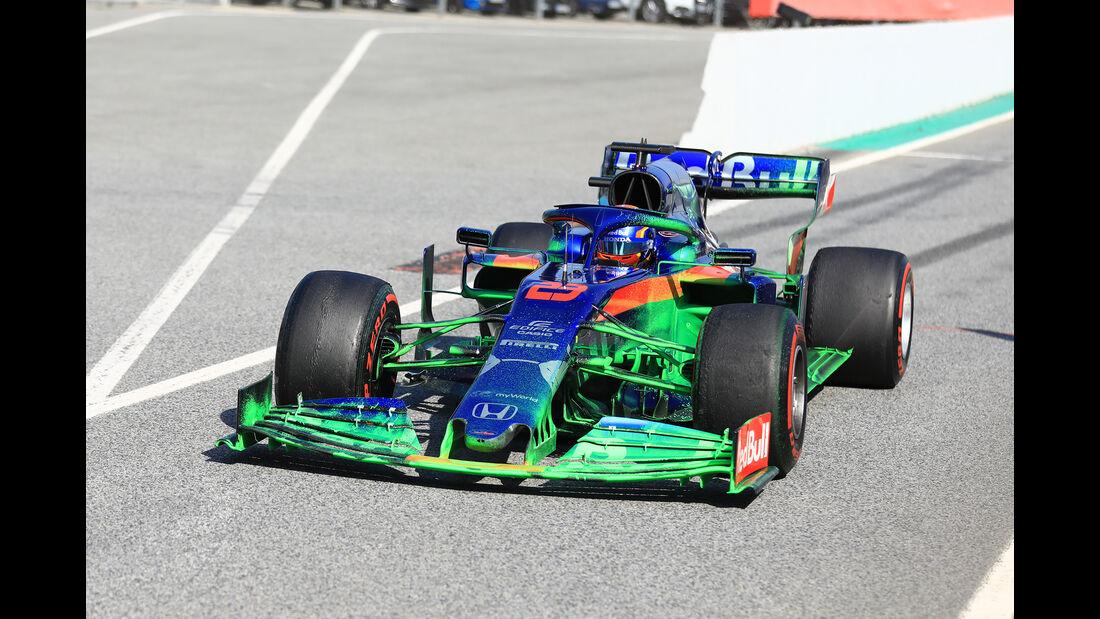Alexander Albon - Toro Rosso - Barcelona - F1-Test - 21. Februar 2019
