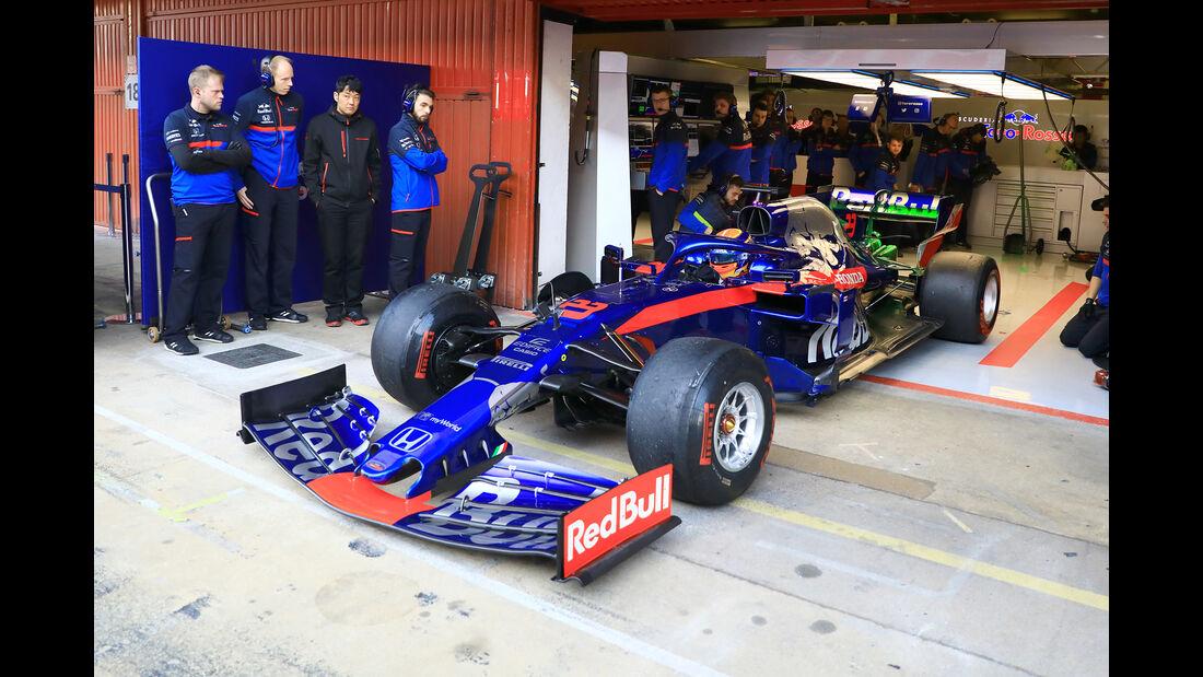 Alexander Albon - Toro Rosso - Barcelona - F1-Test - 27. Februar 2019
