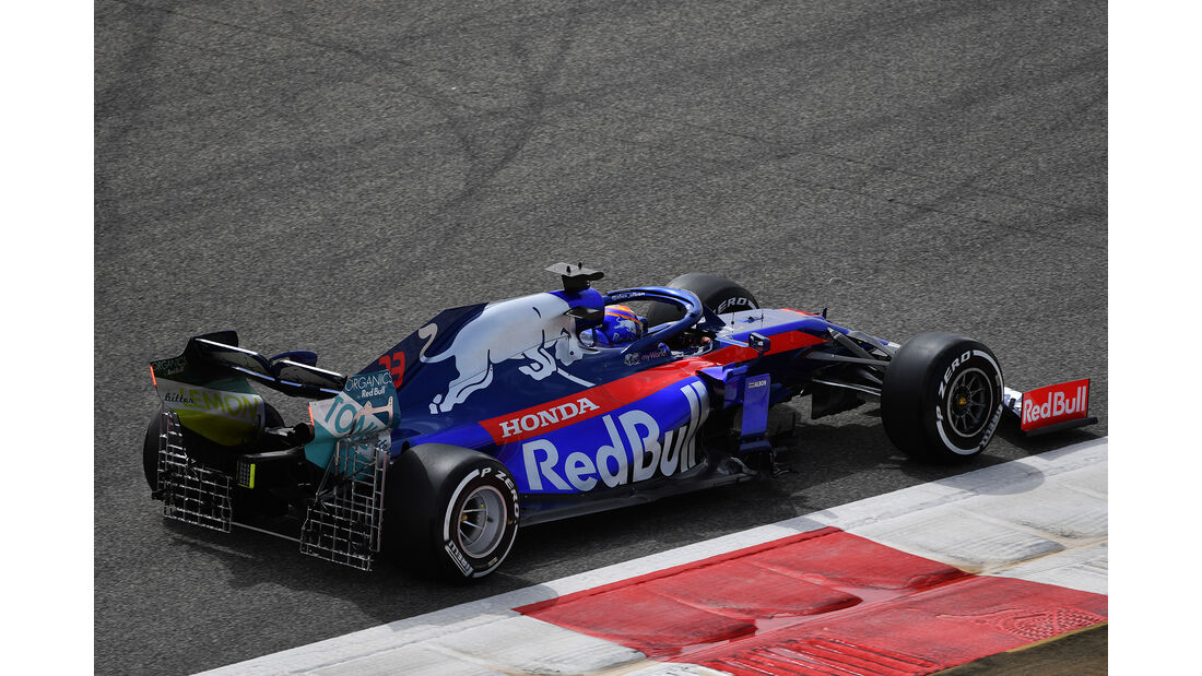Alexander Albon - Toro Rosso - F1-Test - Bahrain - 2. April 2019