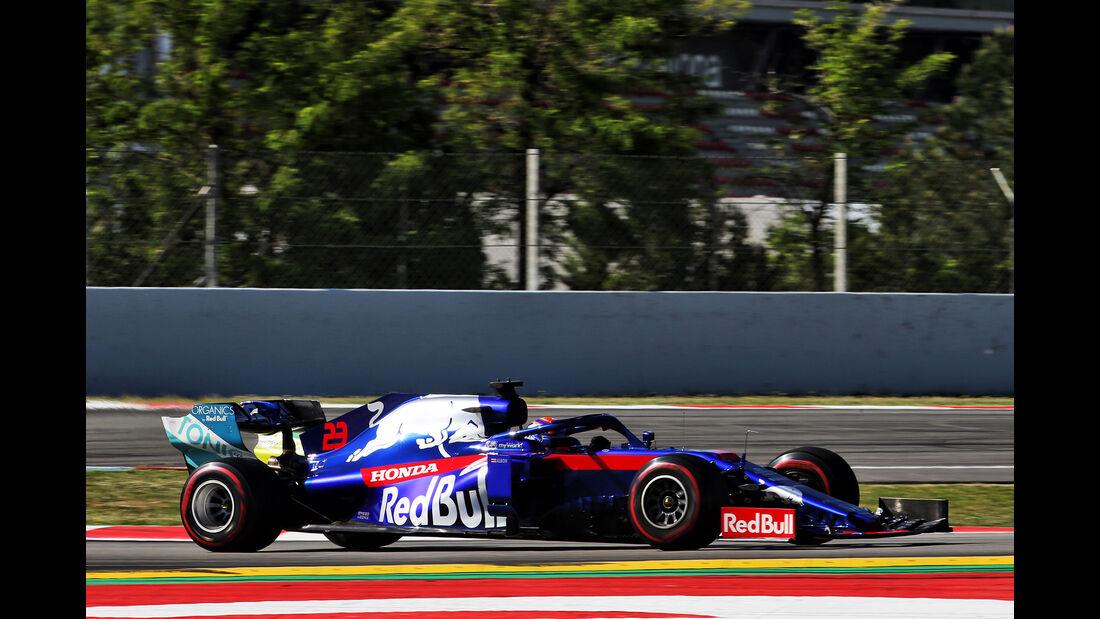 Alexander Albon - Toro Rosso - Formel 1 - Test - Barcelona - 15. Mai 2019
