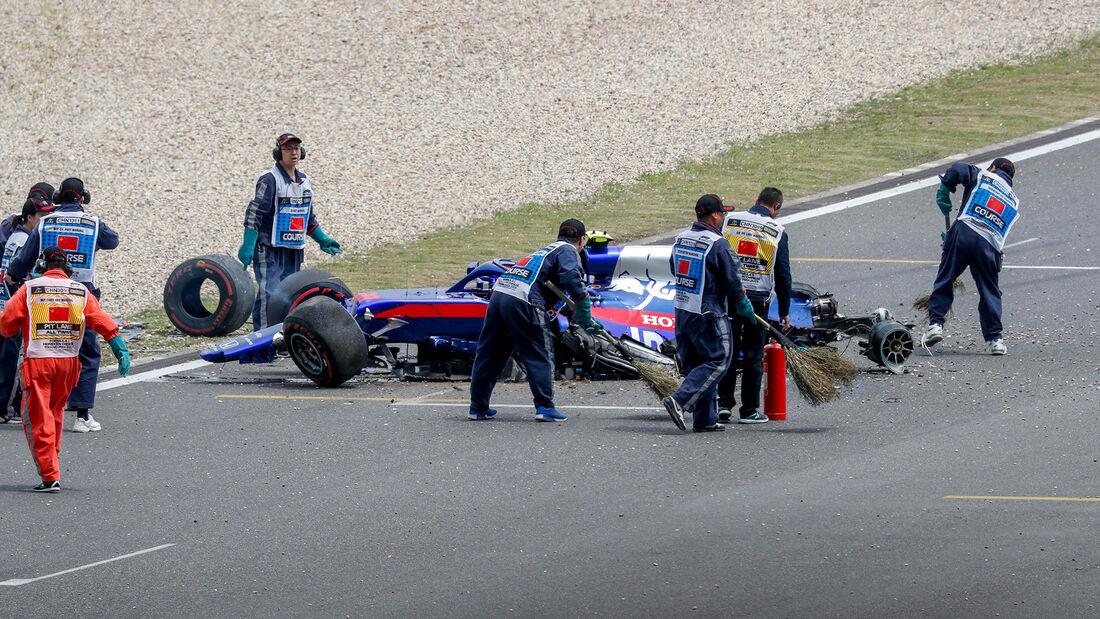 Alexander Albon - Toro Rosso - GP China 2019