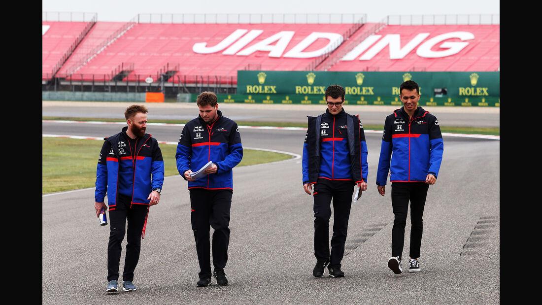 Alexander Albon - Toro Rosso - GP China - Shanghai - Formel 1 - Donnerstag - 11.4.2019