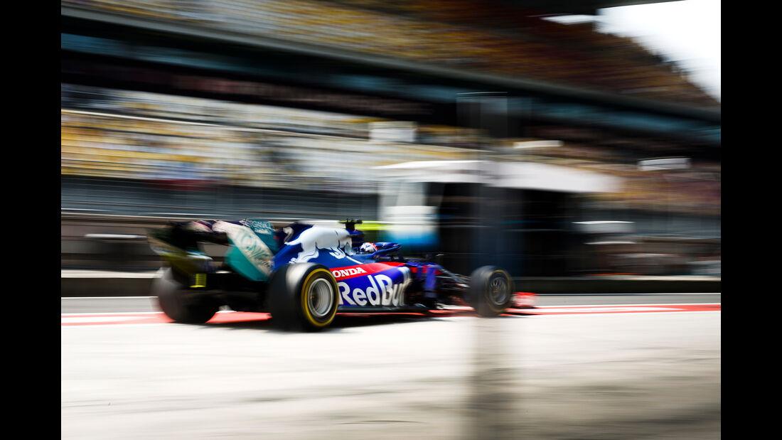 Alexander Albon - Toro Rosso - GP China - Shanghai - Formel 1 - Freitag - 12.4.2019