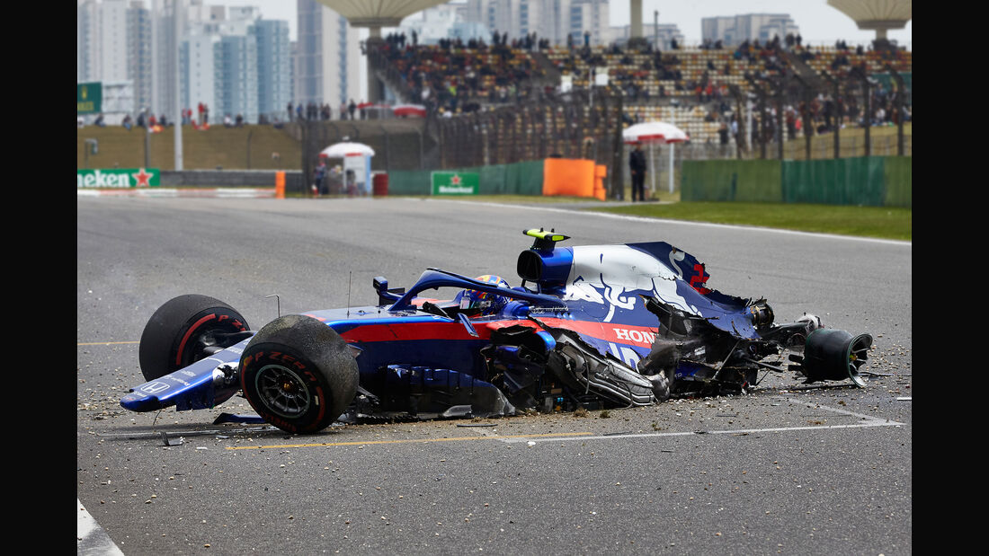 Alexander Albon - Toro Rosso - GP China - Shanghai - Samstag - 13.4.2019
