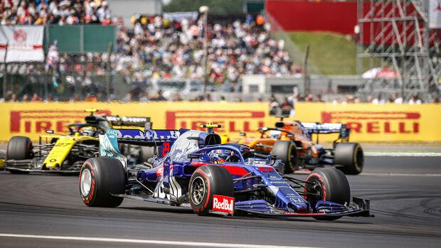 Alexander Albon - Toro Rosso - GP England 2019 - Silverstone