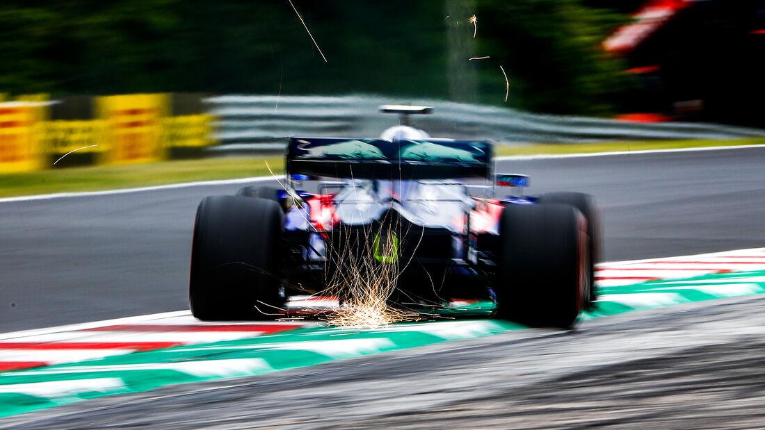 Alexander Albon - Toro Rosso - GP Ungarn 2019 - Budapest