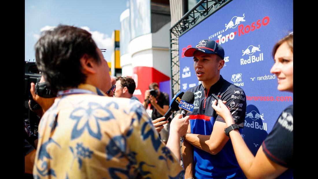 Alexander Albon - Toro Rosso - GP Ungarn - Budapest - Formel 1 - Donnerstag - 1.08.2019
