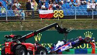 Alexander Albon - Toro Rosso - GP Ungarn - Budapest - Formel 1 - Freitag - 1.8.2019
