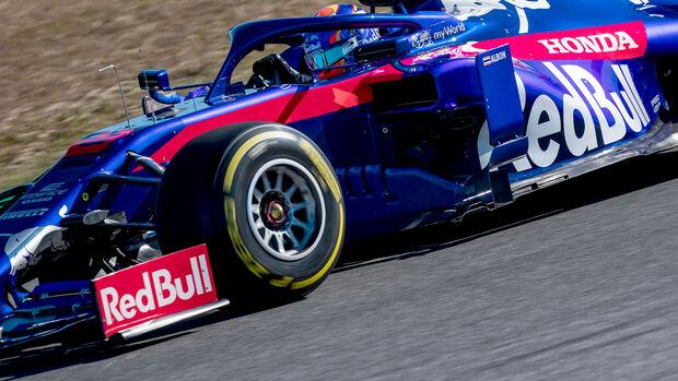 Alexander Albon - Toro Rosso STR14 - Shakedown - Misano - Formel 1 - 2019