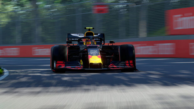 Alexander Albon - Virtueller Grand Prix 2020