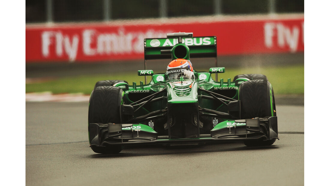 Alexander Rossi - Caterham - Formel 1 - GP Kanada - 7. Juni 2013