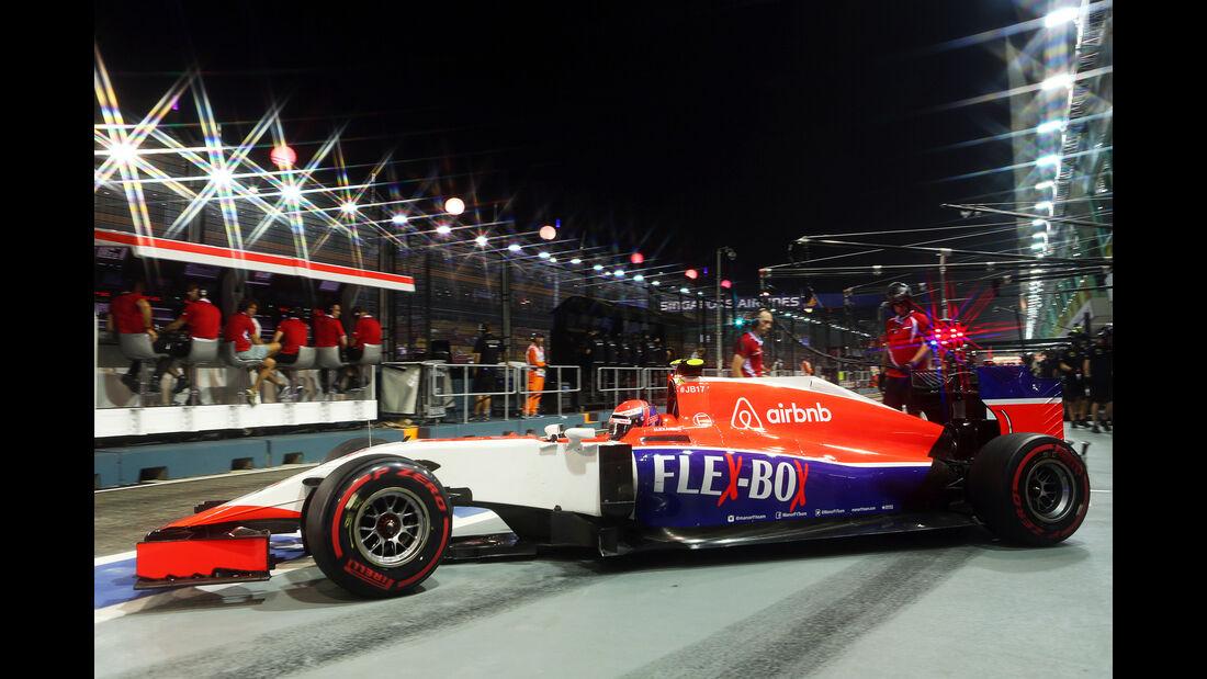 Alexander Rossi - Manor - Formel 1 - GP Singapur - 18. September 2015