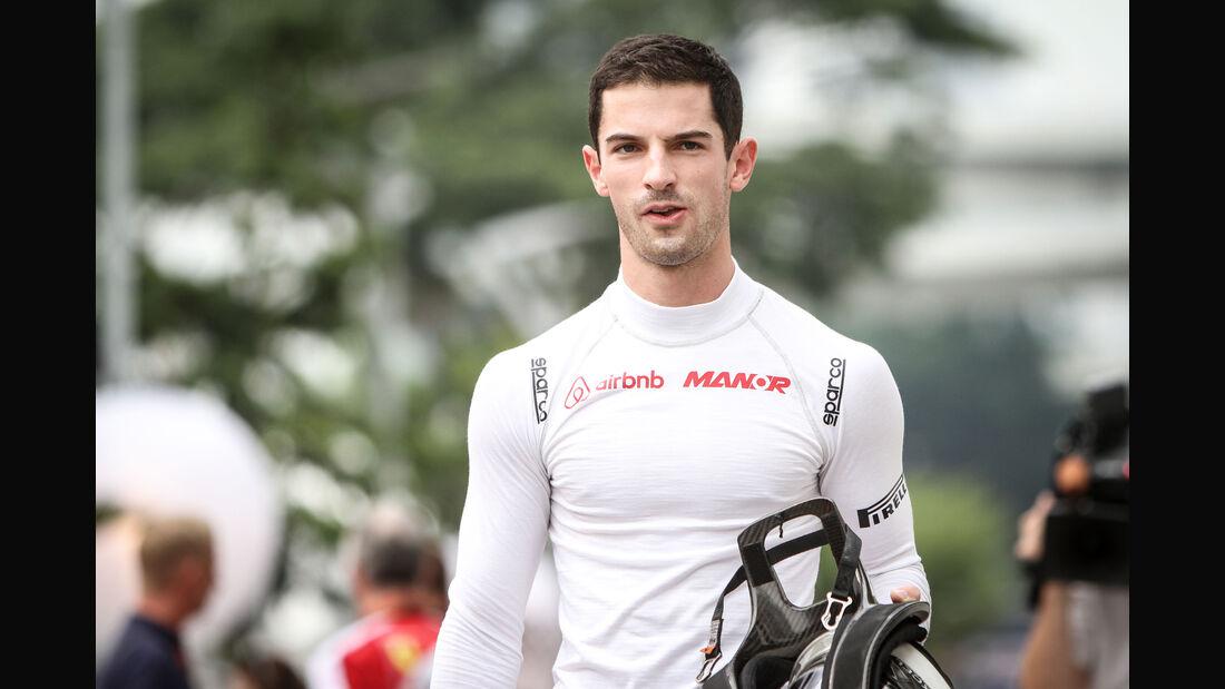 Alexander Rossi - Manor Marussia - Formel 1 - GP Singapur - 17. September 2015