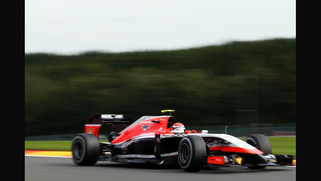 Alexander Rossi - Marussia - Formel 1 - GP Belgien - Spa-Francorchamps - 22. August 2014